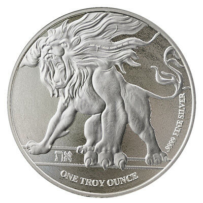 2018 Roaring Lion Silver 1 Oz Niue Coin   Direct From Mint Tube
