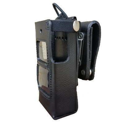 Case Guys Hy3010-3aw Hard Leather Holster For Hytera Pd662 Radios