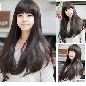 New-Fashion-Cosplay-Daily-Party-Wig-Curly-Wave-Long-Hair-Full-Wigs-Wg-Cap-Gift