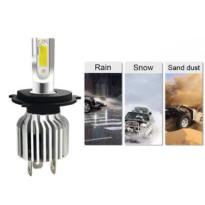 2x 9003 H4 LED Headlight Bulbs Kit Upgrade High&Low Beam 80W 13200LM Clear (Best New Tech Gifts 2019)
