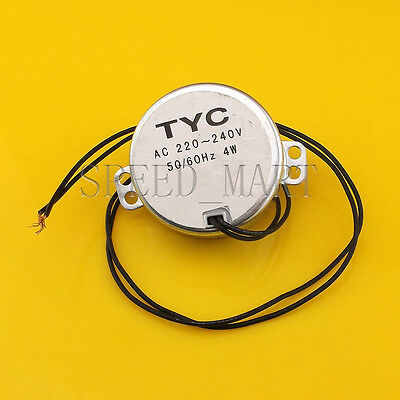 Tyc50 220v 2.5-3rpm Ac Reduction Gear Motormicro Motor Geared Motor