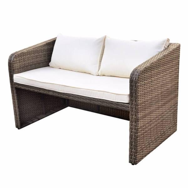 Luxo Nevis 4 Seater PE Wicker Outdoor Furniture Set   Brown | Lounging U0026  Relaxing Furniture | Gumtree Australia Blacktown Area   Seven Hills |  1159105158 Part 57