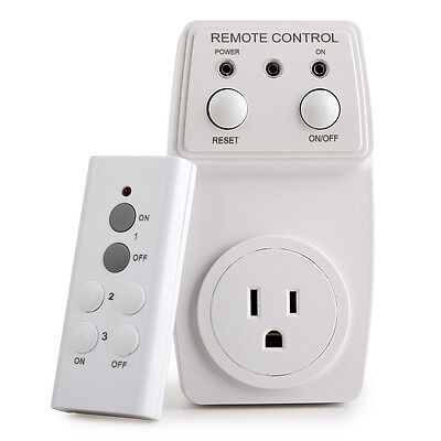 Household Appliances Remote Control Outlet Wireless Energy Saving Light Switch