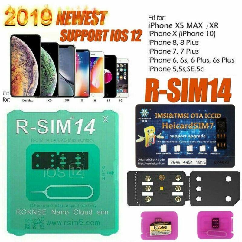 как выглядит RSIM 14 12 2019 R-SIM Nano Unlock Card For iPhone X/8/7/6/6s/5S 4G iOS 12.3 Lot фото