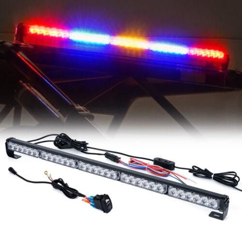 """30""""Inch Offroad Rear Chase LED Light Bar Reverse Brake for UTV ATV Polaris RZR"""
