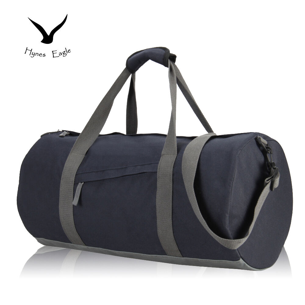 Gym Bag Briefcase: Long Barrel Gym Bag Men's Fitness Handbag Holdall