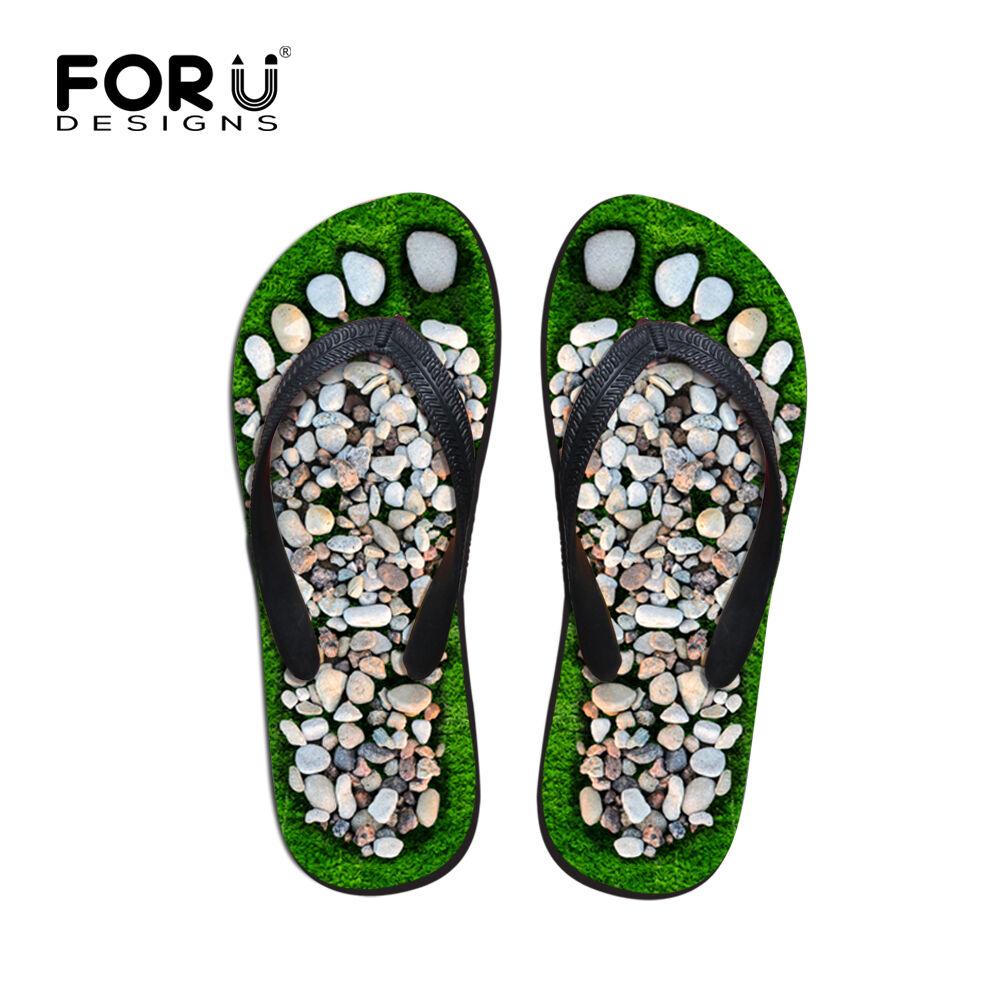 funny printed men s flip flops boys