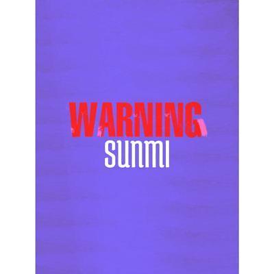 SUNMI Warning Mini Album CD+PhotoBook+Lenticular Bookmark+PhotoCard