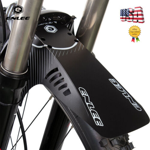 Fouriers Front Fork Fender Mud Guard MTB DH XC Bike Rear Saddle Rail Mudguard