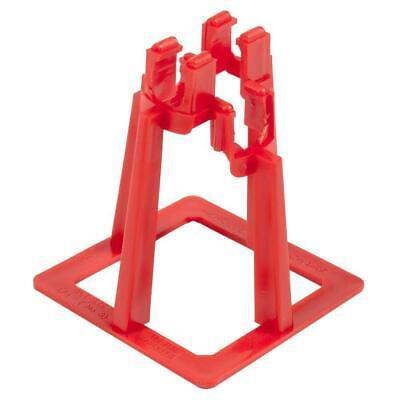 3 In. Rebar Chair 100-pack Red Concrete Cement Building Tools Sidewalks Ways