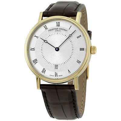 Frederique Constant Slim Line Swiss Automatic Brown Men's Watch FC306MC4S35