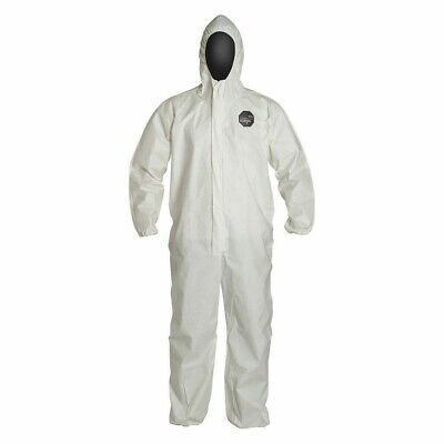 Ng127swhmd0025np Hooded Disposable Coveralls With Elastic Cuff Proshield