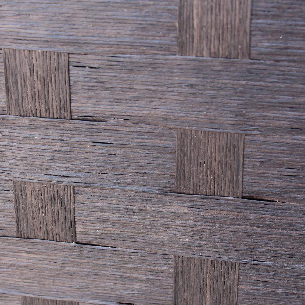 Wood Mesh Woven Design 4 Panel Folding Wooden Screen Room Divider 180 Furniture