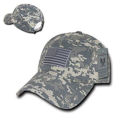 ACU Camo USA US American Flag United States America Army Pol