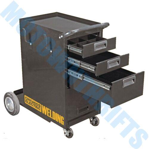 HEAVY DUTY Welding Cabinet Welding Cart Drawers Plasma Cutter Tank Storage