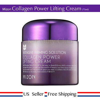 Mizon Collagen Power Lifting Cream 75Ml   Free Random Sample   Us Seller