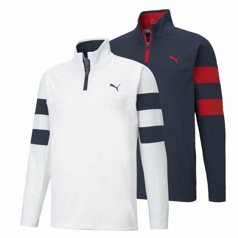 NEW Puma Torreyana 1/4 Zip Golf Pullover - Moisture Wicking - Choose Jacket
