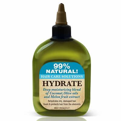 - Difeel 99% Natural Hair Care Solutions- Hydrate 7.8oz