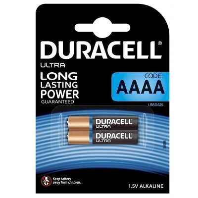 Pack de 2 Pilas Alcalinas DURACELL AAAA Specialty 1.5 V en Blister...