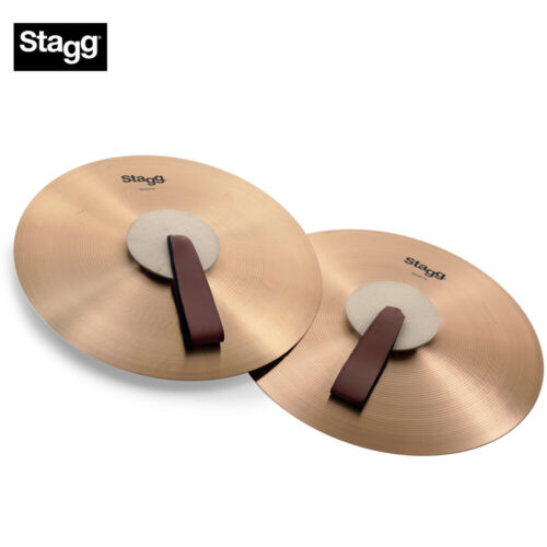 NEW Stagg MASH16 16 Inch Marching/Concert Cymbals - Pair