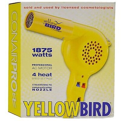 Conair Pro Yellowbird 1875 Watt Hair Dryer 1 ea