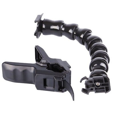 Flexible Jaws Flex Clamp Mount Grip & Adjustable Neck For GoPro Hero 1 2 3 3+ 4