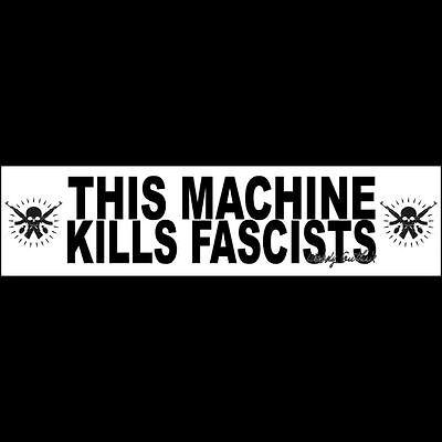 Buy Masks (THIS MACHINE KILLS FASCISTS (mask) Sticker  WOODY GUTHRIE  (Buy 2 Get 1 Free))