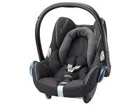 Maxi Cosi Cabrofix Black Crystal car seat