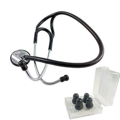 Single Head Stethoscope Pro Zinc alloy Cardiology Stethoscope Doctor Nurse Vet ()