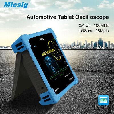 Portable Digital Smart Oscilloscope Micsig Ato1104 100 Mhz 4ch Scopebattery