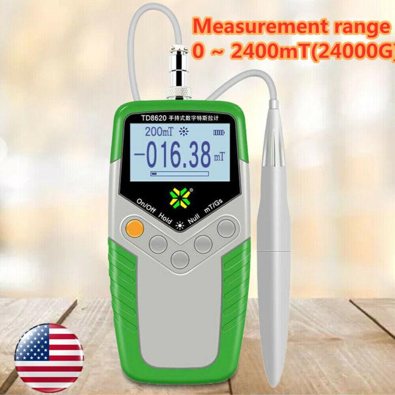 Digital Hand-held Gauss Meter Surface Magnetic Field Tester Magnetic Flux Meter