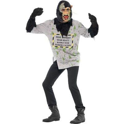 Mutiertes Affenkostüm - Mutant Monkey Costume Halloween Fancy Dress Mens