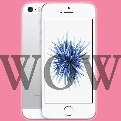 Apple iPhone SE 128GB Silber iOS Smartphone Handy ohne Vertrag LTE 4G