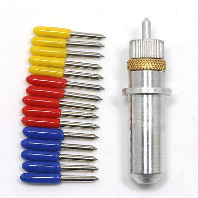 15pcs 304560 Degree Roland Cutting Plotter Vinyl Cutter Bladeblade Holder