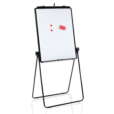 Viz-pro Flipchart Easel Whiteboard Magnetic Dry Erase Board Adjustable 28x36