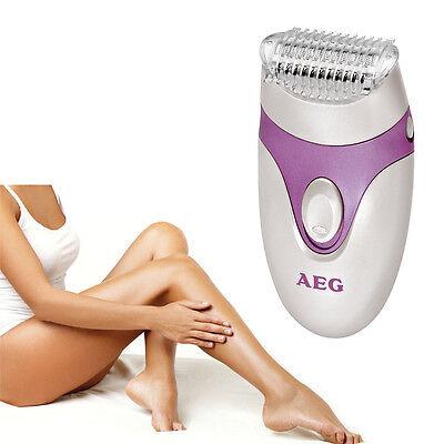 AEG Lady Shaver Damenrasierer Ladyshaver Damen Rasierer Batteriebetrieb flieder