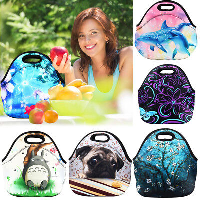 Insulated Neoprene Lunch Tote Bag Picnic Bag Cool Bag for Adults Kids Boys - Cool Lunch Bags For Boys