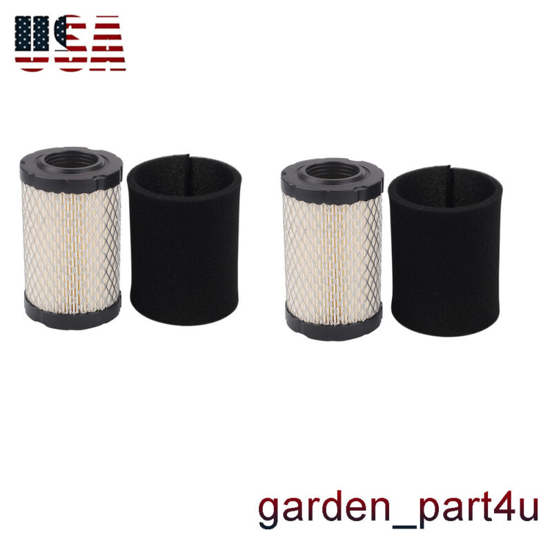 2x AIR PRE FILTER FOR B&S 5421 5428 590825 591334 594201 796031 MIU13963 GY2143