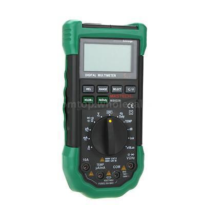 Mastech Ms8229 Digital Multimeter Light Sound Level Temperature Humidity Meter