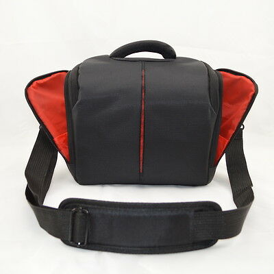 Camera Case Bag for DSLR Camera and Accessories for Canon Nikon with Rain Cover