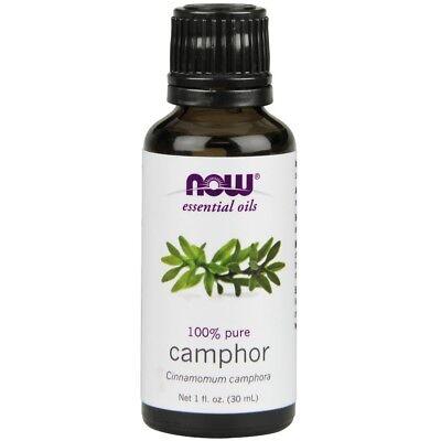 Now Foods Camphor Oil 100  Pure   Natural   1 Oz