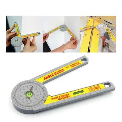 360 Miter Saw Protractor Digital Ruler Angle Meter Level Measuring Tool