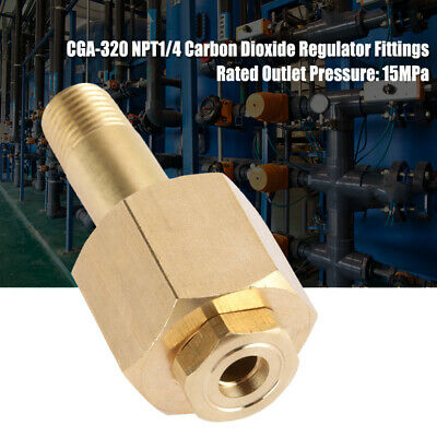 Cga-320 Carbon Dioxide C02 Regulator Inlet Nut Regulator Washer