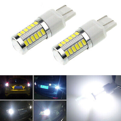 1x T20 White 7443 7440 5630 33SMD LED Dome Map Car Backup Reverse Light Bulb 12V for sale  Shipping to Canada