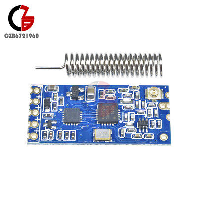 433mhz Hc-12 Si4463 Wireless Serial Port Module 1000m Replace Bluetooth New