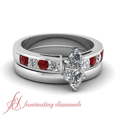 Ruby Engagement Rings And Wedding Bands For Women With Marqu