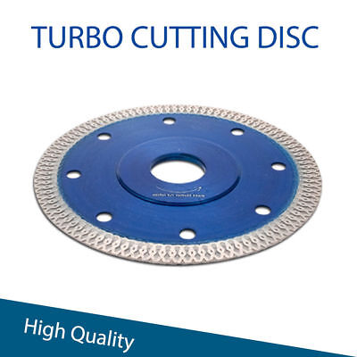 - 1PCS 115MM Wet Dry Turbo Diamond Concrete Blade Cutting Discs For Angle Grinder