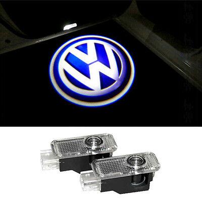 2Laser LED Door Projector Shadow Light  For Volkswagen VW Passat B5 B5.5 Phaeton