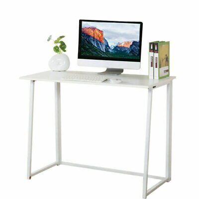 Foldable Computer Desk Folding Laptop PC Table Home Office Study Gaming Desk...