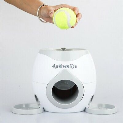 Automatic Pet Dog Launcher Tennis Ball Toy Fetch Hyper Training Interactive Game